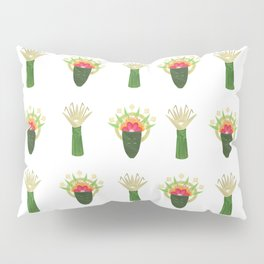 Palm Leaf and Flower Offerings Pillow Sham