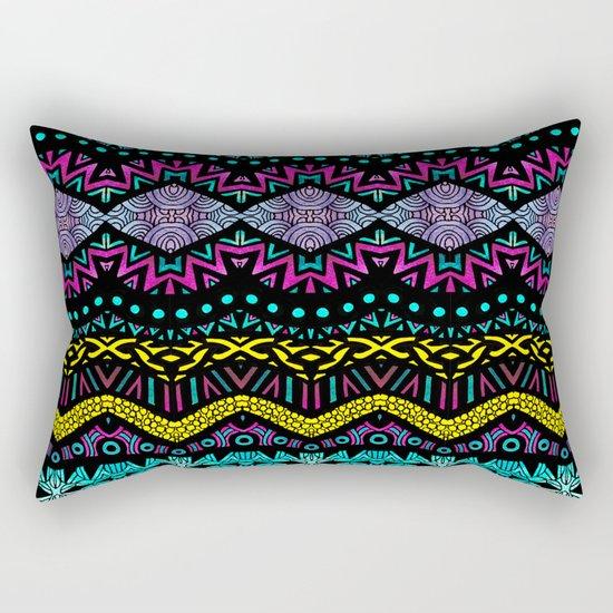Tribal Dominance Rectangular Pillow