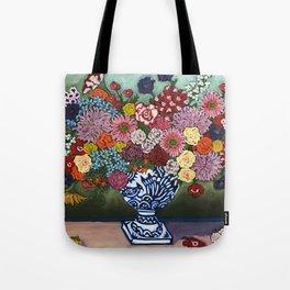 Amsterdam Flowers Tote Bag