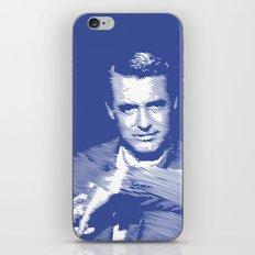 Cary Grant Blue iPhone & iPod Skin