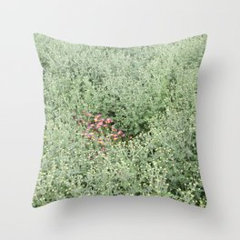 gently gentle #3 Throw Pillow