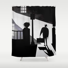 Friedkin's The Exorcist Shower Curtain