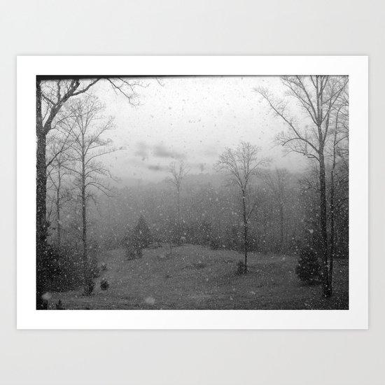 Winter Wonderland Art Print