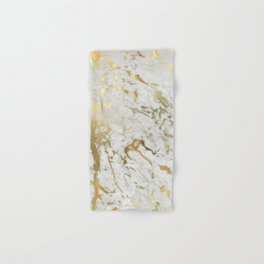 Gold marble Hand & Bath Towel