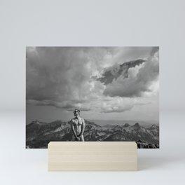 Mountain Son Mini Art Print