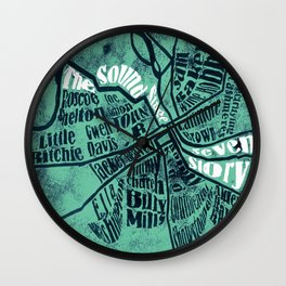 All in one place Wall Clock