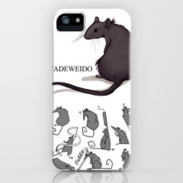 Feeling Ratty iPhone Case
