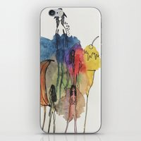 community iPhone & iPod Skins featuring Community by GretchenAnn