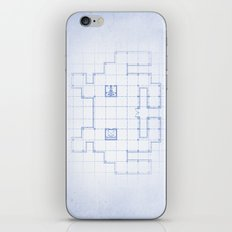 A SPACE PLAN iPhone & iPod Skin