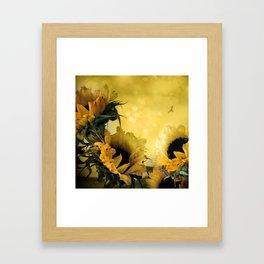 Sunflowers Framed Art Print