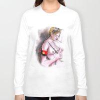 tank girl Long Sleeve T-shirts featuring Tank girl FanArt by Pakom.Kmi