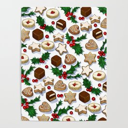Christmas Treats and Cookies Poster