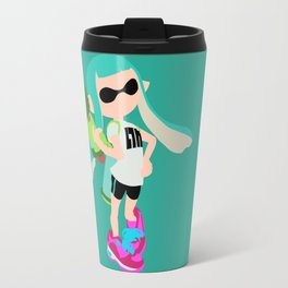 Inkling Girl (Aqua) - Splatoon Travel Mug