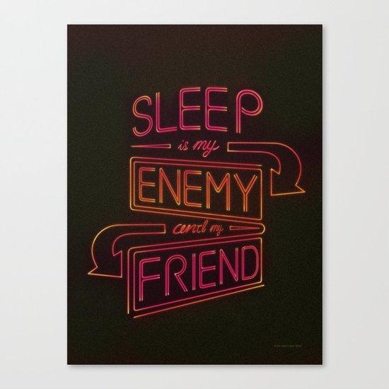 Sleep Canvas Print