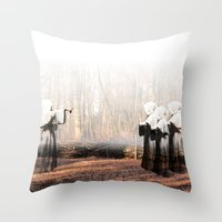 coven Throw Pillows featuring Coven by Infaustus
