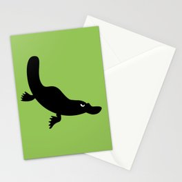 Angry Animals - Platypus Stationery Cards
