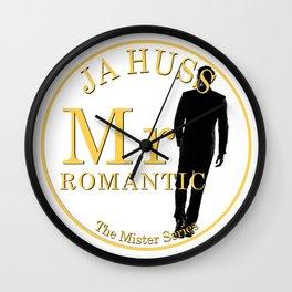 Mr. Romantic - By JA Huss Wall Clock