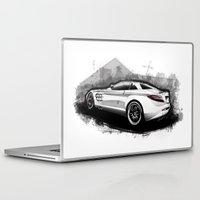 mercedes Laptop & iPad Skins featuring Mercedes-Benz SLR McLaren 722 by an.artwrok