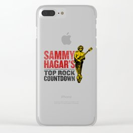 SAMMY HAGAR TOUR Clear iPhone Case