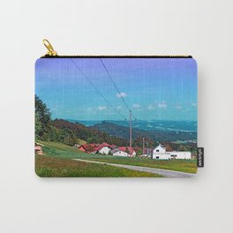 Country road, powerlines, and lots of scenery Carry-All Pouch