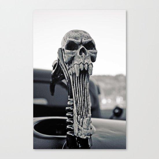 Skull ornament Canvas Print