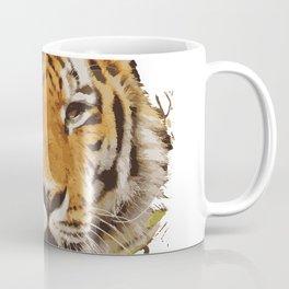 tiger face vektor Coffee Mug