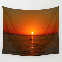 At The End Of The Day Wall Tapestry