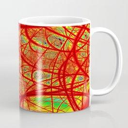 Rainbow Fractal 2 Coffee Mug