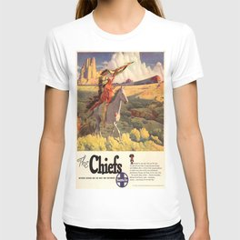 Vintage poster - The Chiefs T-shirt