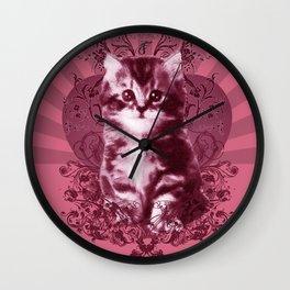 Miou! Wall Clock
