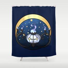 Chandelure Shower Curtain
