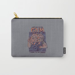 Let's go to the gym Carry-All Pouch