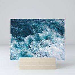 Ocean Waves Aerial Mini Art Print
