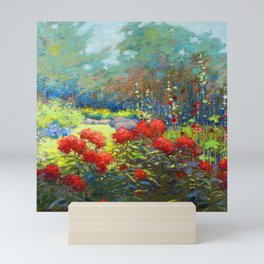 Mary Heister Reid Garden in September Mini Art Print