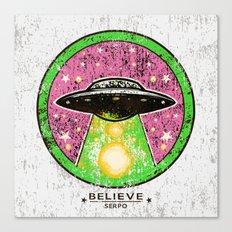 UFO SERPO Canvas Print