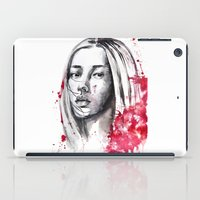 asia iPad Cases featuring asia by Lua Fraga