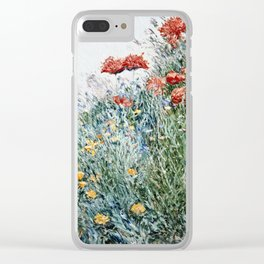 Childe Hassam - Poppies  Appledore Clear iPhone Case