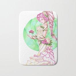 Lady Roses Bath Mat