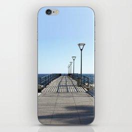 The Longest Walk . Pier to oblivion. iPhone Skin