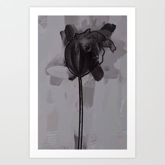 leaf one Art Print