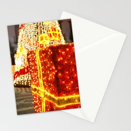 Outdoor Christmas decorations Stationery Cards