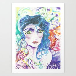 Astral Morning Art Print