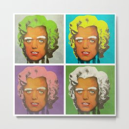 Oompa Loompa set of 4 Metal Print
