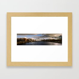 Dublin Docklands Framed Art Print