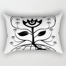 Eye Flower Rectangular Pillow