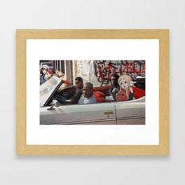 Menace II K-On! Framed Art Print