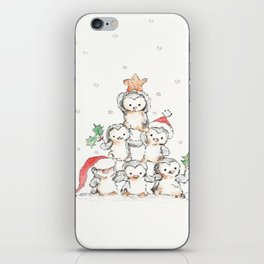 Oh Penguin Tree iPhone Skin