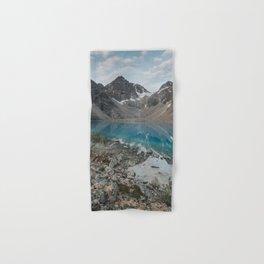 Blue Lake - Landscape and Nature Photography Hand & Bath Towel