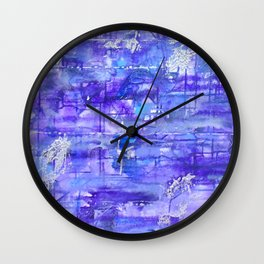 Into the Twilight Dimenision Wall Clock