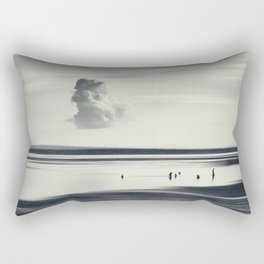 Slow Down - Abstract Seascape Bali Rectangular Pillow